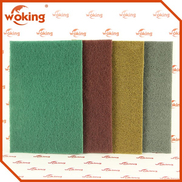 Nylon Scouring Pad Green Scouring Pad Kitchen Scouring Pad