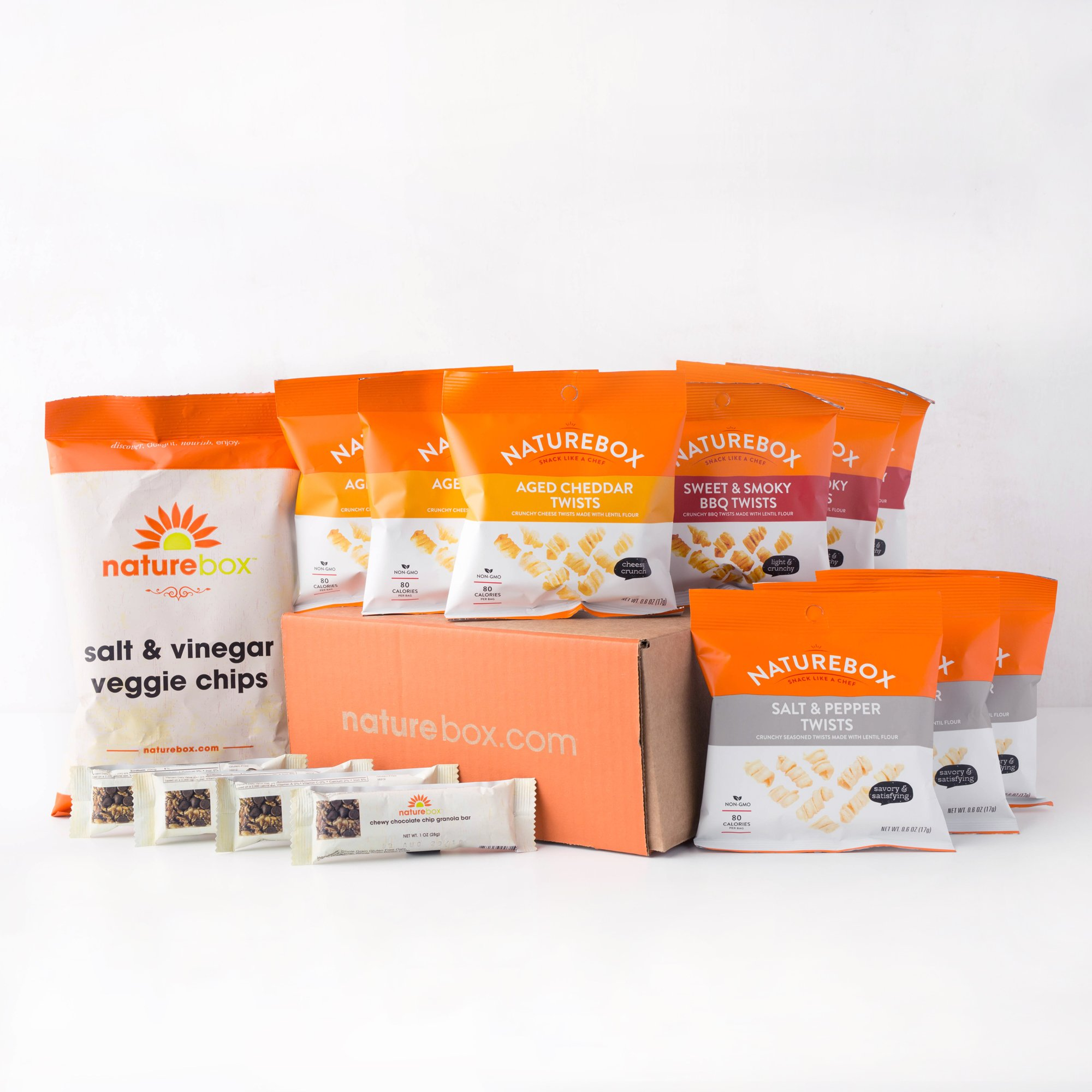 NatureBox Healthy Snacks Care Package Variety Assortment (Healthy Snacks)