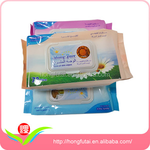 Convenient Make-up Remover Wet Wipes Supplier