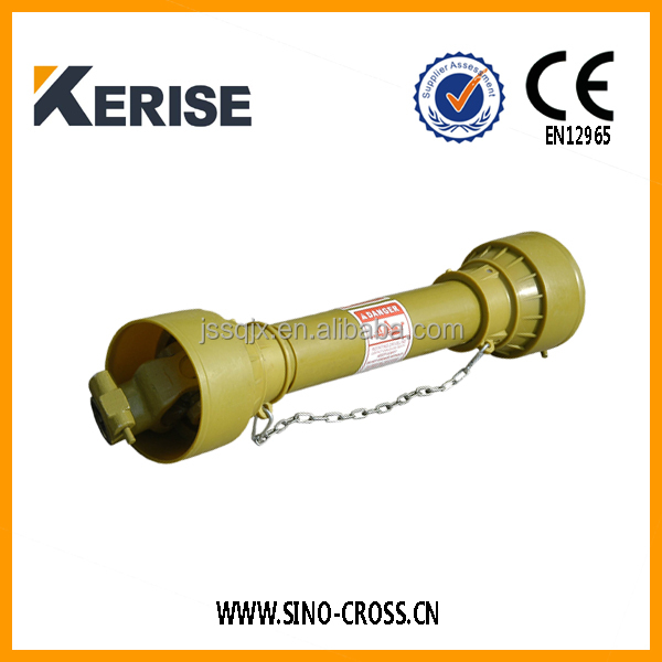 Providing tractor drive shaft cover
