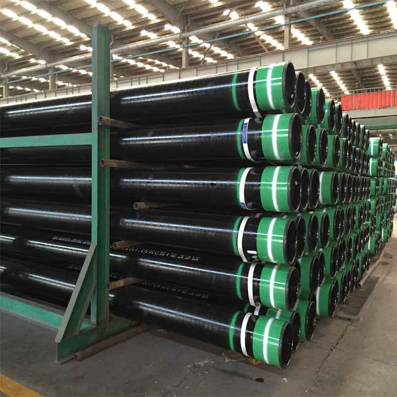 API Spec 5CT Grade K55 LTC Thread 13-3/8 Inch Steel Seamless Casing Pipes, API 5CT Approved Oil Well Drilling Pipes