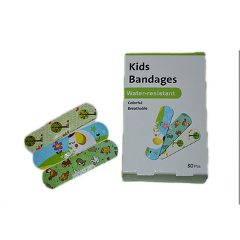 Custom Printed Colored Bandage Adhesive Wound Plaster Band Aid