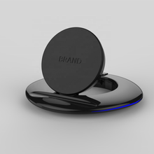 2019 new technology product adjustable holder and folding  bracket support 5W/7.5W/10w fast wireless phone charger