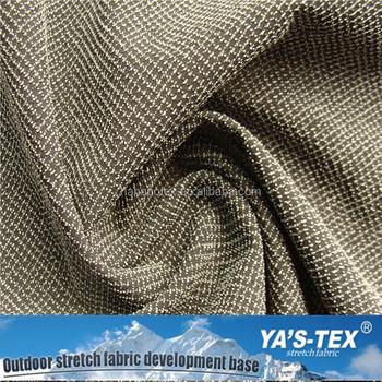 Grosshandel Wasserdicht Polyester Spandex Schnittfeste Stoff Fur