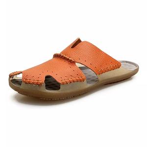 d3bc40d51ef3 Arab Men Leather Slipper Sandals