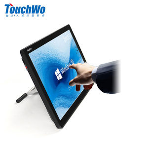 Customized Optional HD 18.5 Inch Touch Screen Gaming Monitor Desktop Computer /interactive touch screen kiosk with mini pc