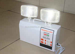 two head fire exit rechargeable Twin Spot Emergency Lights 2*3W high power LED with CE and ROHS