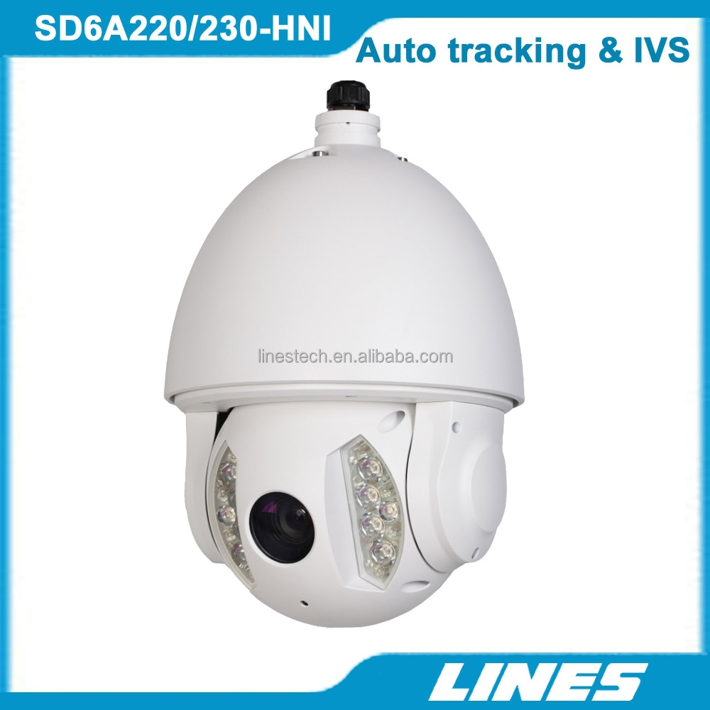 2MP 1080P Auto motion tracking and IVS IR PTZ IP Camera