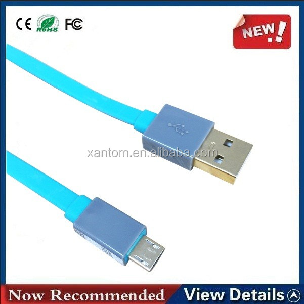 Wholesale Promotional Colourful mhl micro usb to rca cable Usb Data Charger Cable