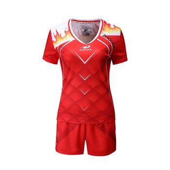 cf6bd065cf246 Cheap custom made full sublimation beach short sleeve women volleyball  jerseys