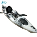 Long life one person fishing boat, small fishing boat, catamaran kayak