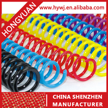 Easy to use and Unique stationery wholesale from china for business & school Plastic Spiral Coil Binder Binding Ring