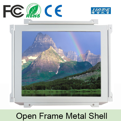 Wall Frameless 12 inch TV LCD Panel Open Frame LCD Monitor
