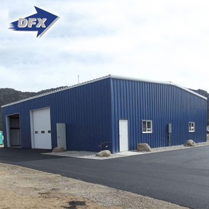China light steel building material water proof prefabricated grain depot store house barn warehouse building