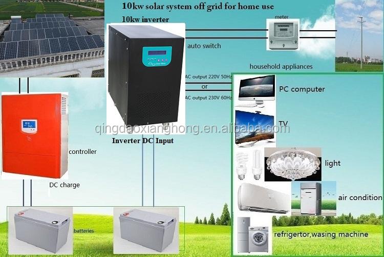 Daha iyi fiyat kapalı ızgara 3kw 5kw 10kw 20kw 25kw 30kw güneş sistemi