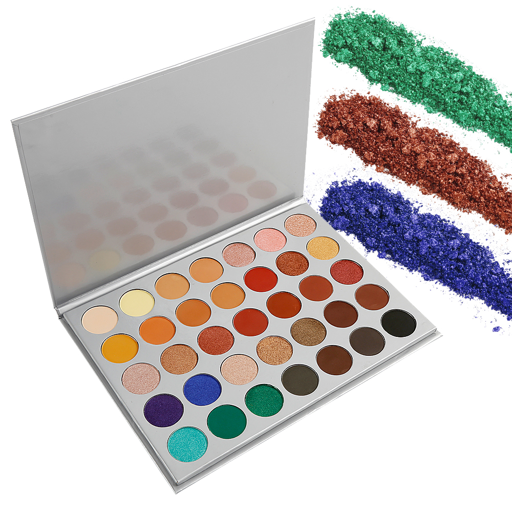 Custom logo 35 color Jaclyn Hill Eyeshadow Palette