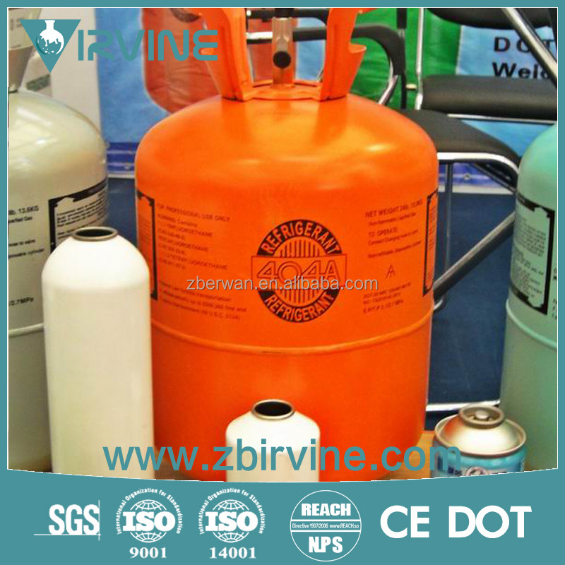 Mixed Composed by R125/R134/R143 China Refrigerant gas r404a
