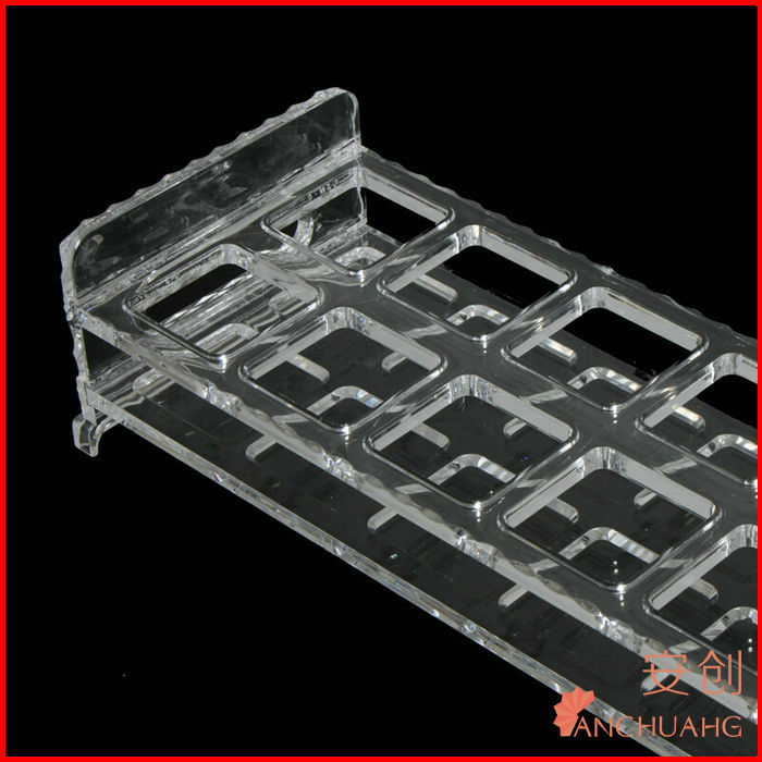 bar bottle rack-acrylic spacer bar for insulating glass