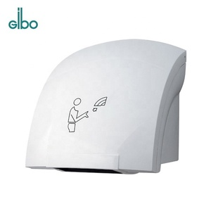 China Factory Wall Mounted Electrical Auto Sensor Jet Air Hand Dryer for Shopping Mall Hotel