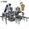 Customizable can production process line Automatic Sardines Canned dog food