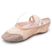Manufacturer Wholesale Dance Shoes Canvas Split Sole Ballet Shoes