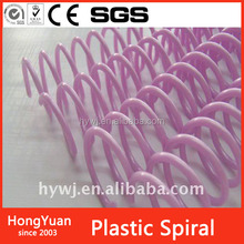 Office & School Supplies pvc plastic binding coil,office and school stationery binding material plastic binding spiral wire