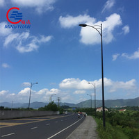 high way 6m solar lamppost manufacturer