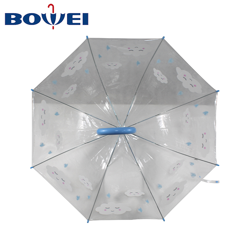 China manufacturer use-friendly windproof small rain transparent umbrella for women