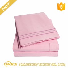 Luxury comfortable adult microfiber factory price bed sheet