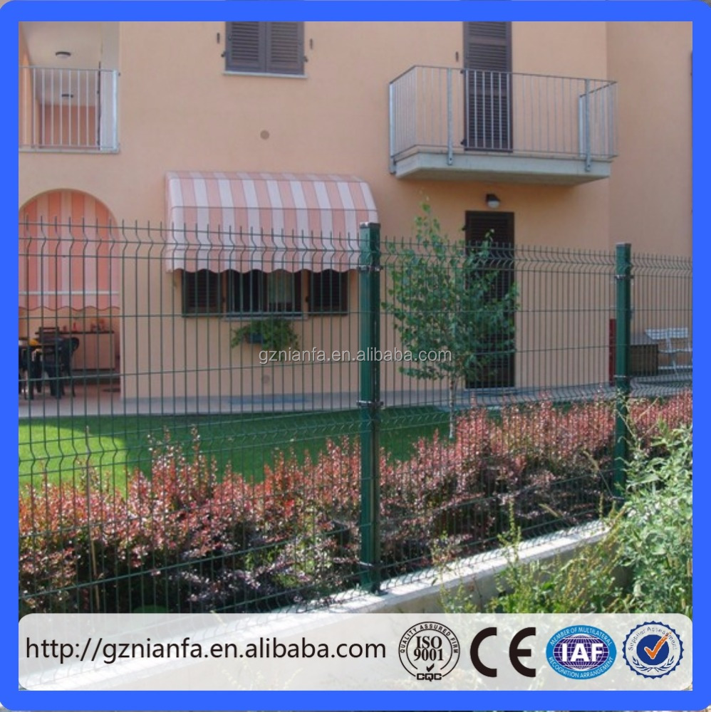 Hot Sale European Design PVC Fencing for Home Garden Fence(Guangzhou Factory)