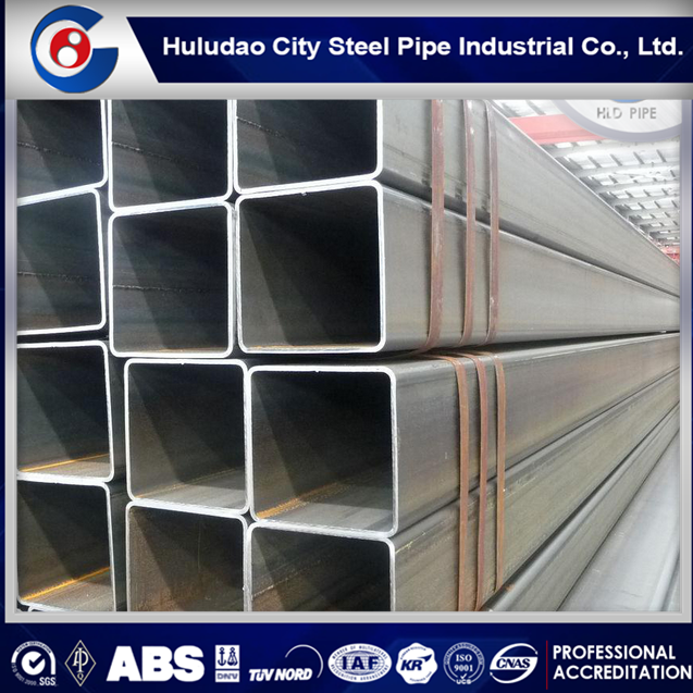 Fresh production Q345b Black Square Carbon Welded tube