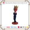 Resin famous character crown charles bobble head
