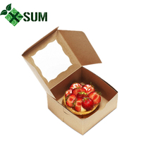 Exquisite custom design packaged cake box with candy paper box
