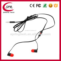 Wholesale earbuds with microphone headset headphone for HTC butterfly X920E free shipping