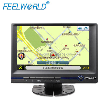 Desktop Wall Mounted 7 Inch 1080p VGA Small Lcd Tv Monitor For Car With Factory