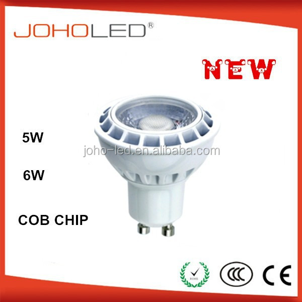 LED Spot light GU10N COB GU10 LED Spotlight 5W AC100-240V LED Lamp Bulb Light