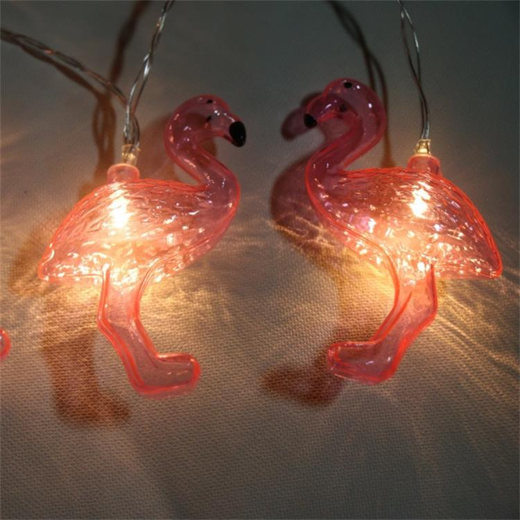 Factory price Home Decoration Lighted Pink Flamingo Marquee lights