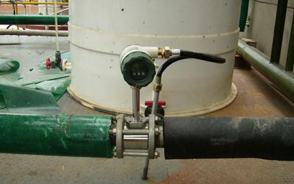 Air Flow Station : Lpg gas flow meter vortex flowmeter for large diameter