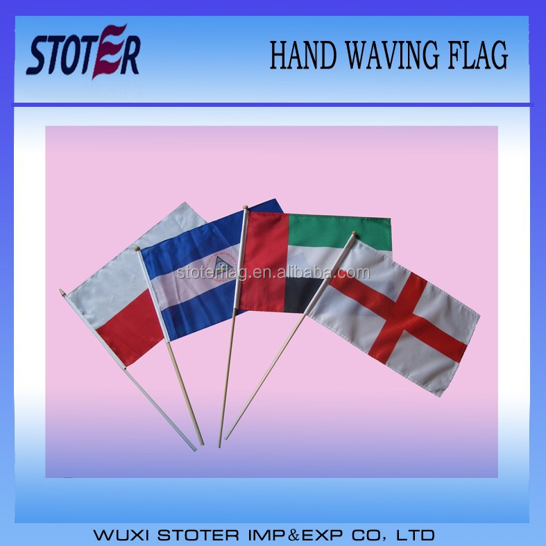 United Arab Emirates Country Small Hand Waving Flag