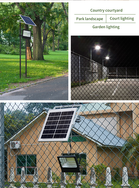 solar led floodlight  Hot sale  White ip65 waterproof outdoor smd Aluminum 25w 40 w 60 w 100 w