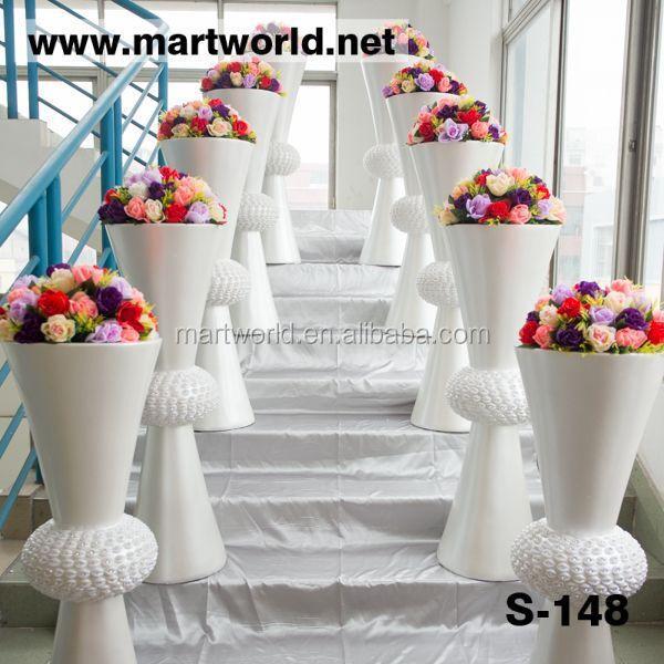 Unique Silver Wedding Decorative Pillars And Columns