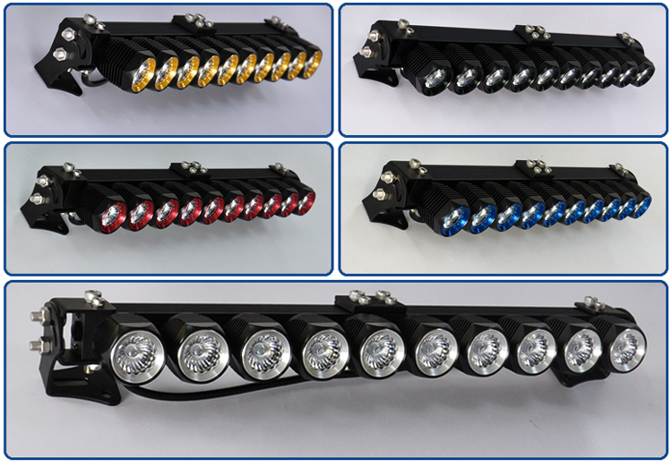 Ce rohs diy led light bar single row 24 spot flood combo modular ce rohs diy led light bar single row 24 spot flood combo modular led bar mozeypictures Images