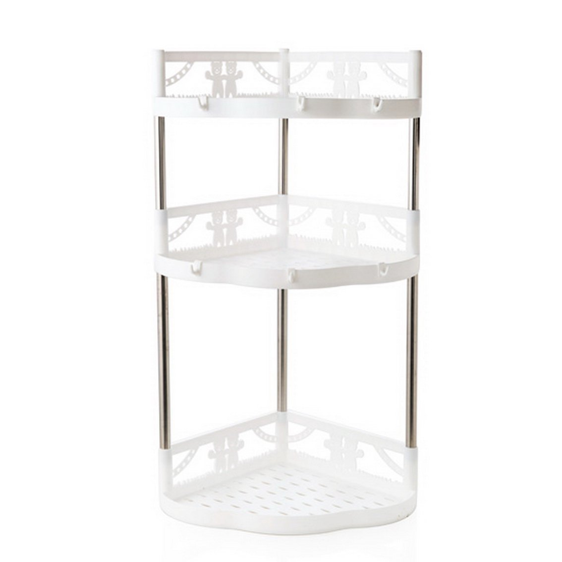 fengg2030shann Multi-layer stainless steel glove racks floor storage racks storage racks kitchen spices finishing frame spices rack Storage rack storage rack tune Materials shelving storage rack st