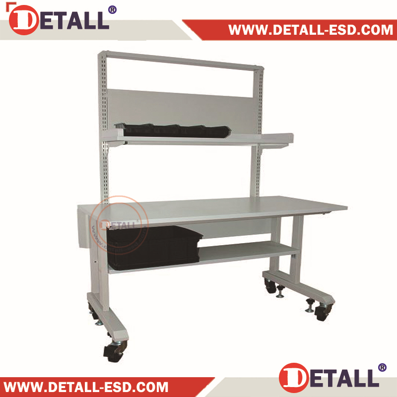 Anti Static Tables : Anti static modular esd work table with under shelf buy