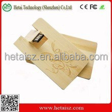 wooden card shaped usb flash drive, wood business card 512gb usb, wooden credit card usb 1tb