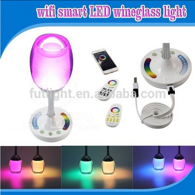 Touch Remote Control Magic Romance Led Table Lamp,Rgb Dimmable ...