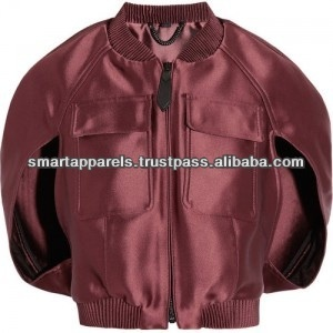 Men's hi vis satin bomber jackets