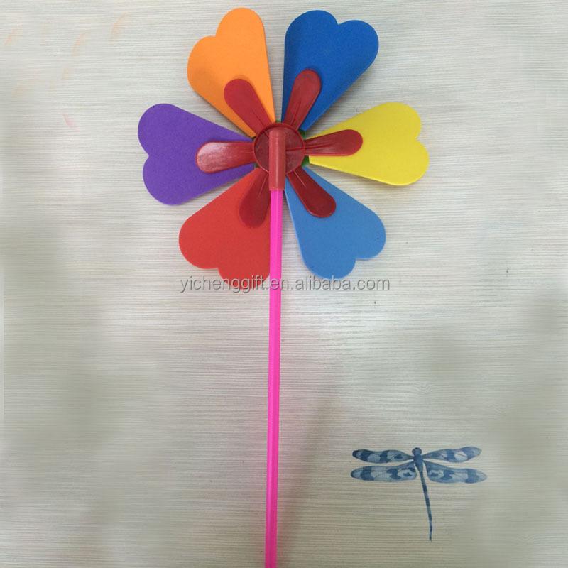diy eva toy handmade eva windmill kids toy windmills buy kids toy