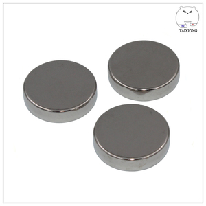 N40 Disc D15 x 3 mm Sintered NdFeB Magnet with High Quality