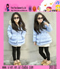 Fashion Long Cashmere Coat For Girls Wholesale Keep Warm Baby Fashion Winter Coat Factory